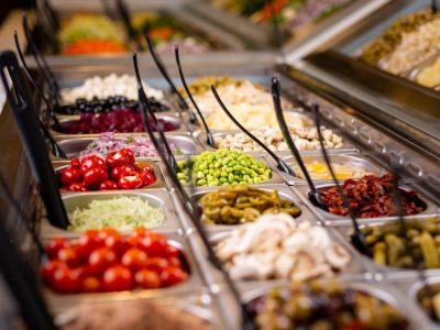 buffeten hos Det Grønne Køkken